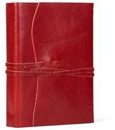 Cavallini NEW Roma Lussa Leather Journal Red 13x17cm