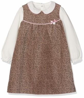 Chicco Baby Girls' Completo T-Shirt Con Abito Smanicato Clothing Set