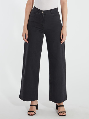 Toni High Waisted Wide Leg Jeans