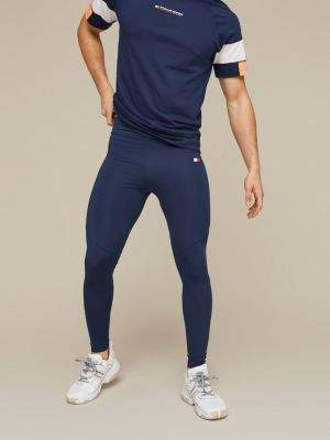 Tommy Hilfiger Fitted Mesh Panel Leggings