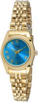 JCPenney TKO ORLOGI Womens Light Blue Dial Petite Bracelet Watch