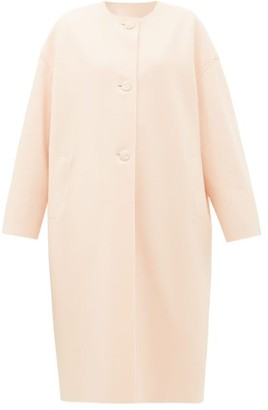 Harris Wharf London Single-breasted Felted-wool Coat - Light Pink