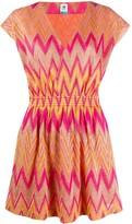 M Missoni embroidered shift dress