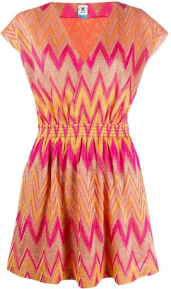 M Missoni Embroidered Shift Dress