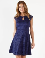 Lipsy All Over Lace Skater Dress