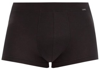 Hanro Natural Function Stretch-jersey Boxer Briefs - Black