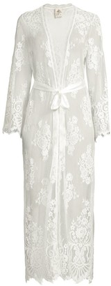Jonquil Floral Lace Robe