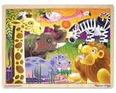 Melissa & Doug Kids Toy, African Plains 24-Piece Jigsaw Puzzle
