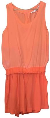 Les Petites Pink Silk Jumpsuit for Women