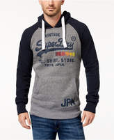 Superdry Men's Shirt Shop Logo Raglan Hoodie