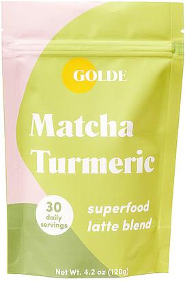 Golde GOLDE Matcha GOLDE Turmeric Tonic Blend