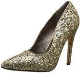 Michael Antonio Women's Lamiss-Glitter Dress Pump