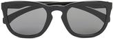 Calvin Klein Jeans Unisex Wayfarer Sunglasses Black