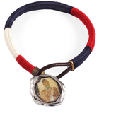 Lulu Frost George Frost G. FROST TRI-NATION WRAPPED WAX SEAL BRACELET