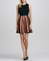 Erin Fetherston Abby Sleeveless Fit-and-Flare Dress