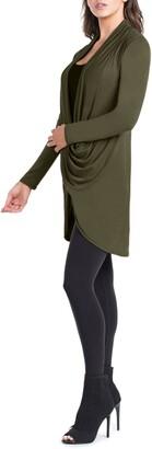 Savi Mom Nara Crossover Maternity/Nursing Tunic with Camisole