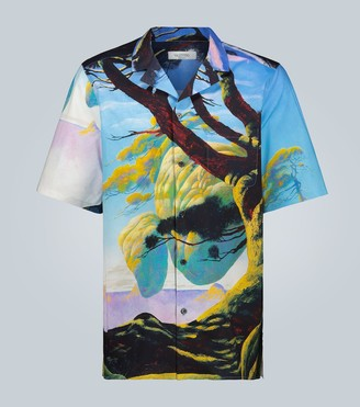 Valentino Floating Island short-sleeved shirt