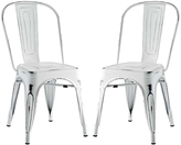 Modway Promenade Steel Side Chair - Set of Two