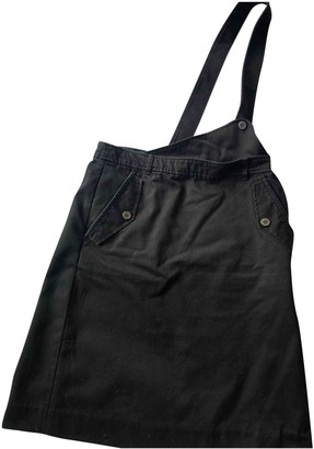 Marc by Marc Jacobs Black Cotton Skirt for Women