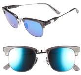 Westward Leaning Women's 'Vanguard' 49Mm Sunglasses - Slate Shiny/ Neon Blue
