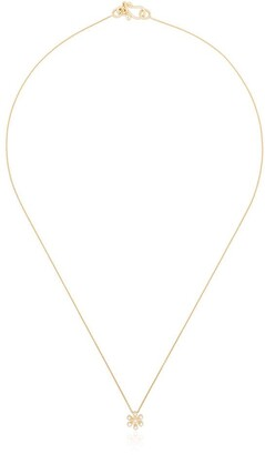 Sophie Bille Brahe 18kt yellow gold Fiore diamond necklace