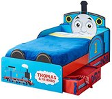 Thomas & Friends Thomas the Tank Engine Kids Toddler Bed with Underbed Storage by HelloHome
