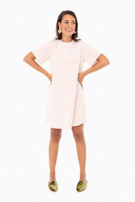 Pomander Place Navy Zoe Mini Tee Dress