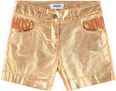 Moschino Metallic color shorts