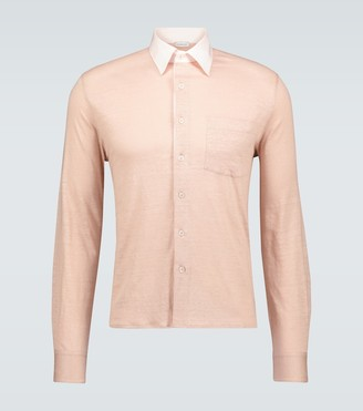 Caruso Relaxed-fit lyocell shirt