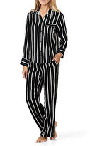 DKNY Striped Satin Pajamas