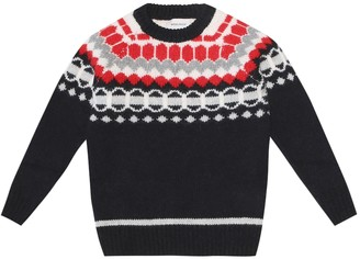 Woolrich Kids Wool and cashmere sweater