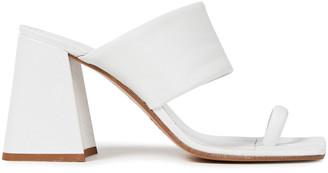 Maison Margiela Split-toe Leather Mules
