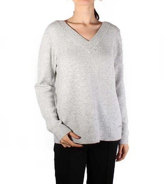 MICHAEL Michael Kors Easy Deep V-Neck Sweater