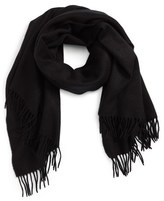 David & Young Women's Fringe Solid Scarf