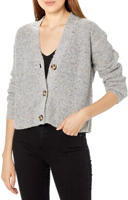 BB Dakota Women's Speckle Agent Sweater
