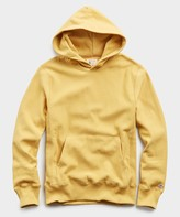 Todd Snyder + Champion Lightweight Popover Hoodie Sweatshirt in Goldenrod