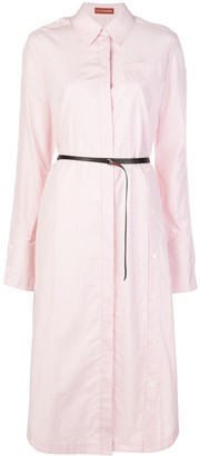 Altuzarra Striped Mid-Length Shirt Dress