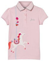Joules Pink Merry Go Round Applique Polo