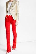 Balmain Button Front Jeans