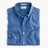 J.Crew Slim Albiate 1830 for washed shirt in indigo seersucker