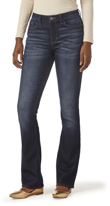 Lee Indigo Women's Midrise Bootcut Jean