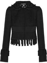 Dolce & Gabbana Embellished Jacquard-knit Cardigan - Black