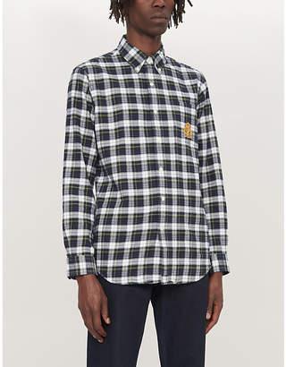 Polo Ralph Lauren Checked custom-print cotton-flannel shirt