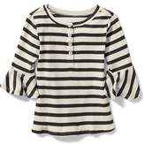 Old Navy Bell-Sleeve Henley for Toddler Girls