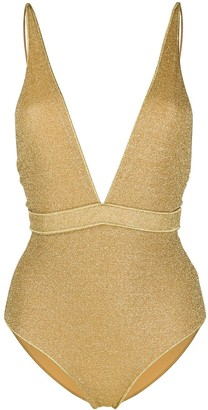 Oseree Metallic Shimmer Swimsuit