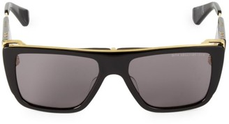 Dita Eyewear 56MM Rectangular Sunglasses