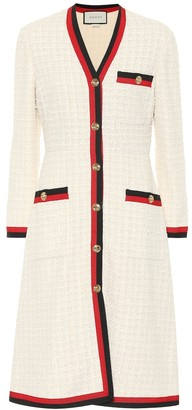 Gucci Cotton-blend tweed coat