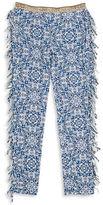 Jessica Simpson Girls 7-16 Patterned Fringe Pants