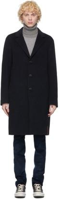 President's Navy Wool Egg Coat
