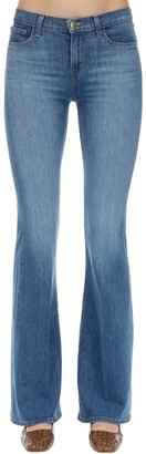 J Brand Valentina High Rise Flared Denim Jeans